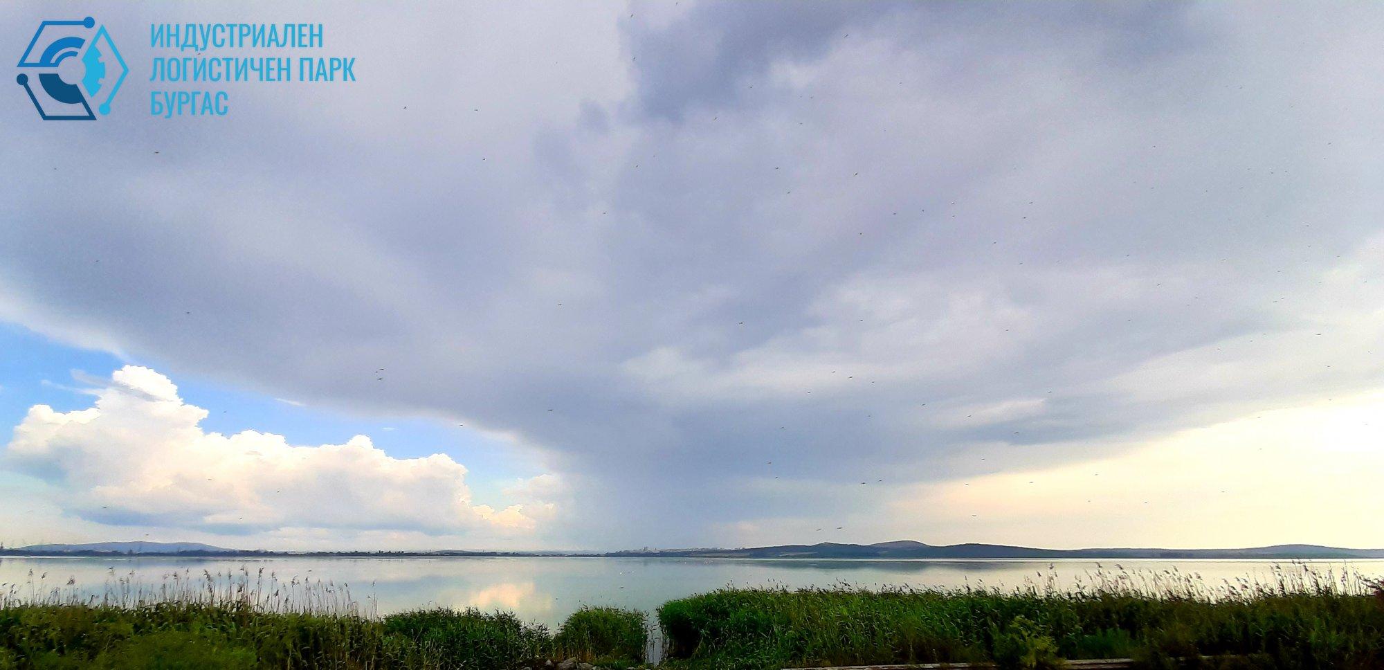 Езерото след буря