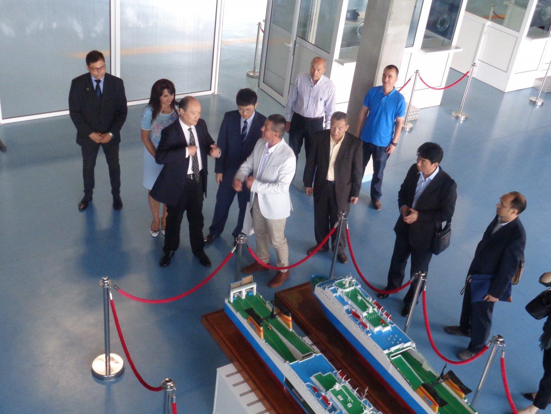Индустриален и логистичен парк с представяне пред китайска делегация