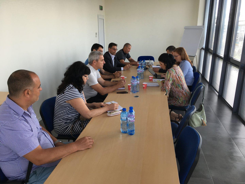 """Експерти от """"Световната банка"""" консултираха инвеститори в Индустриален и логистичен парк – Бургас"""