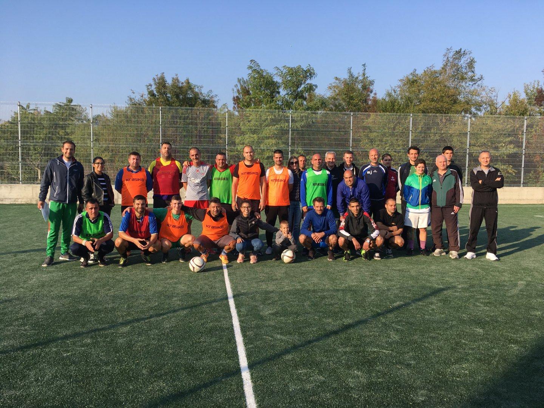 Футболен турнир на малки вратички в Индустриален парк - Бургас